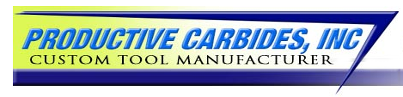 Logo, Productive Carbides Incorporated, Custom Carbide in Cincinnati, OH